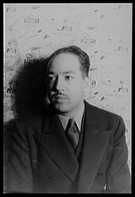 [Portrait of Langston Hughes]