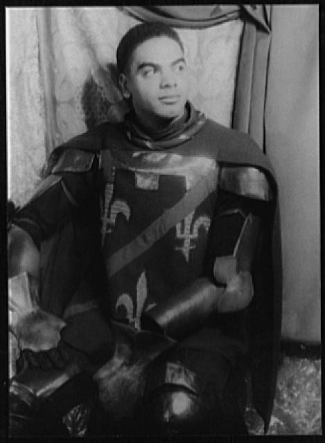 [Portrait of Earle Hyman, as Dunois in Shaw's St. Joan]