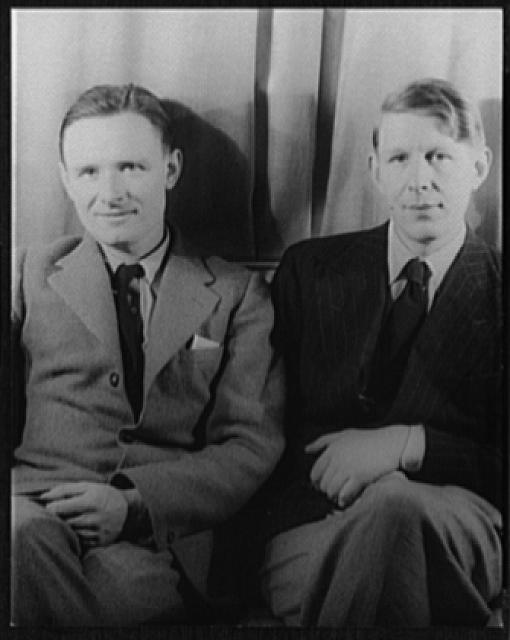 [Portrait of Christopher Isherwood and W.H. Auden]