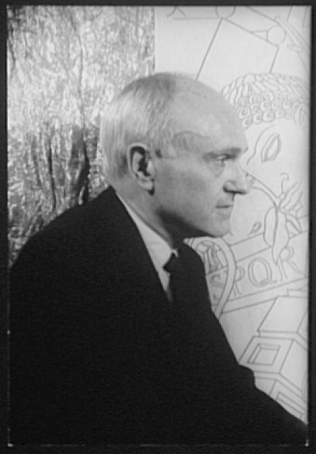 [Portrait of Philip Johnson, Esq.]