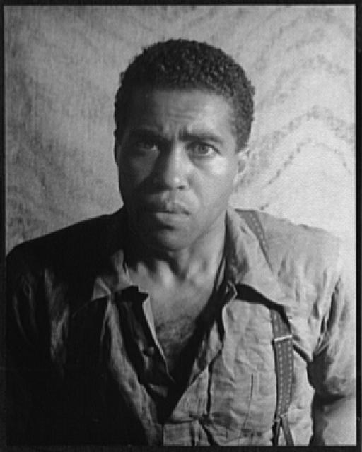 [Portrait of Earl Jones, in Langston Hughes&#39; &quot;Don&#39;t you want to be free?&quot;]