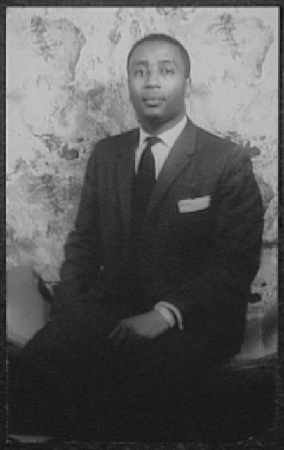 [Portrait of James V. Lowe, baritone and member of the Fisk University Music Department]