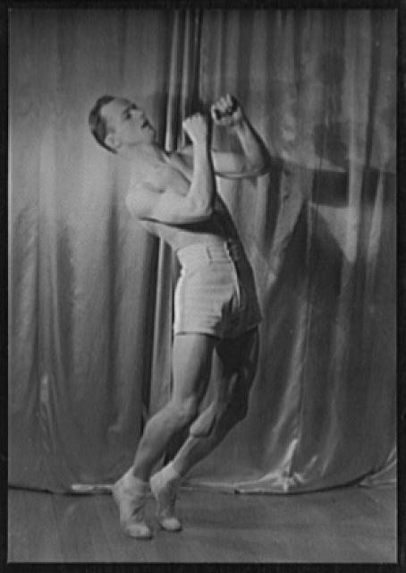 [Portrait of Wilbur McCormack, in Boxing Dance]