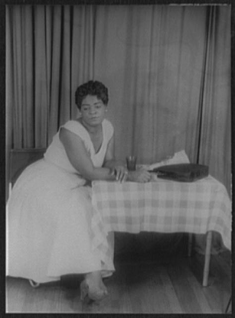 [Portrait of Claudia McNeil, as Mamie in Simply Heavenly by Langston Hughes]