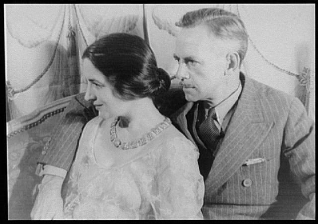 [Portrait of Eugene O'Neill and Carlotta Monterey O'Neill]