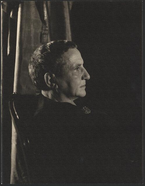 [Portrait of Gertrude Stein]