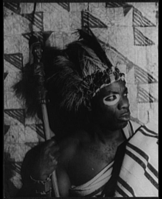 [Portrait of Turquese, as Chief Burah, the king in Kykunkor]