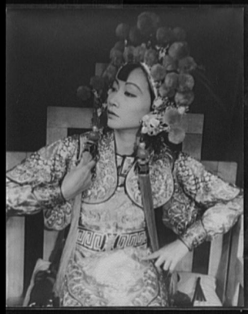 [Portrait of Anna May Wong, in Turandot]