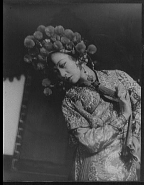 "[Portrait of Anna May Wong, in ""Turandot"" at Westport]"