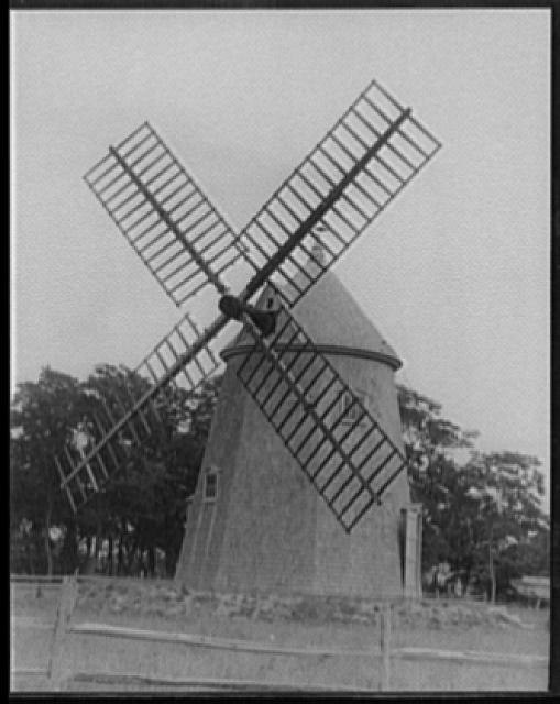 [Old windmill, Eastham, Cape Cod, Massachusetts]