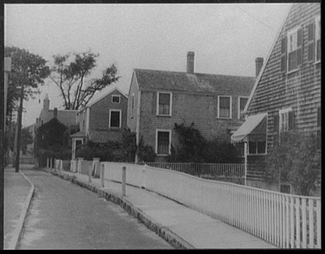 [Nantucket street, Massachusetts]