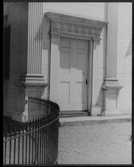 [Door in Newburyport, Massachusetts]