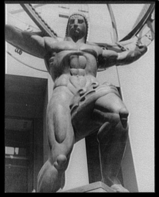 [Statue of Atlas, Radio City, New York City]