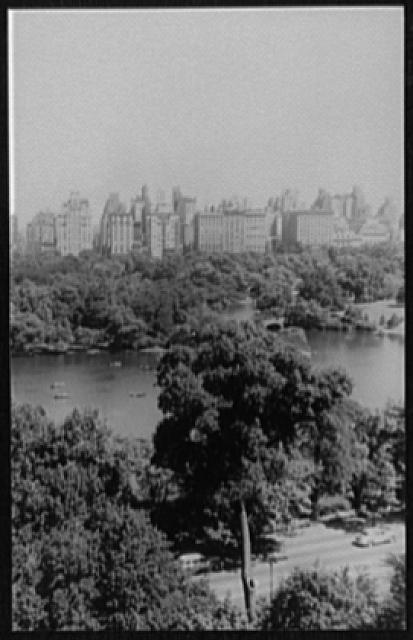 [View from 146 Central Park West, New York City]