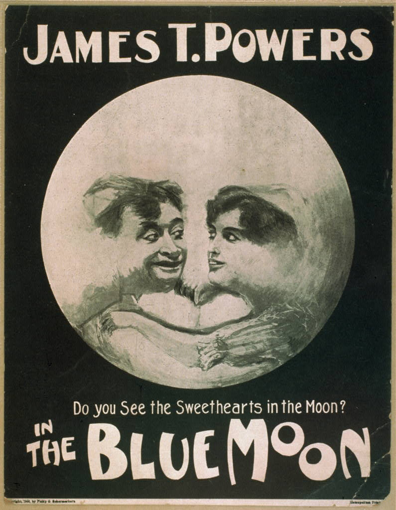 James T. Powers in The blue moon