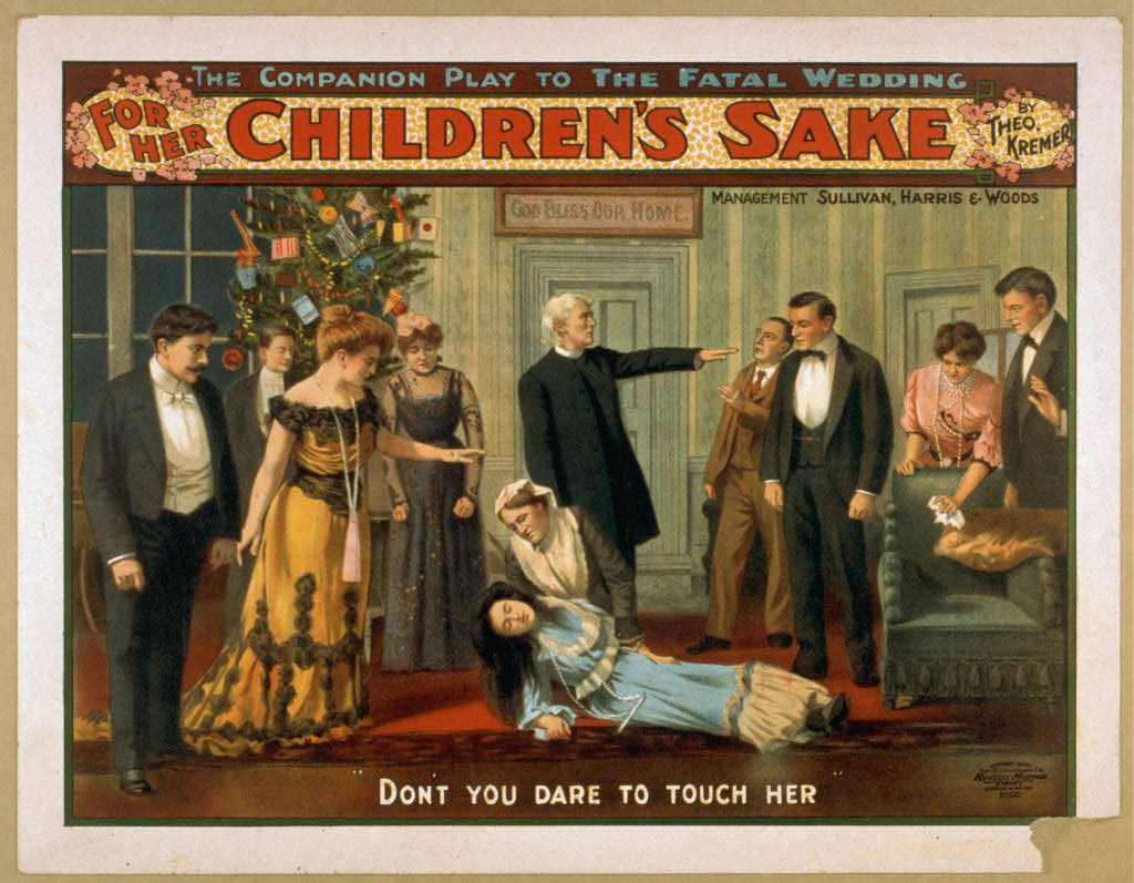For her children&#39;s sake by Theo. Kremer : the companion play to The fatal wedding.