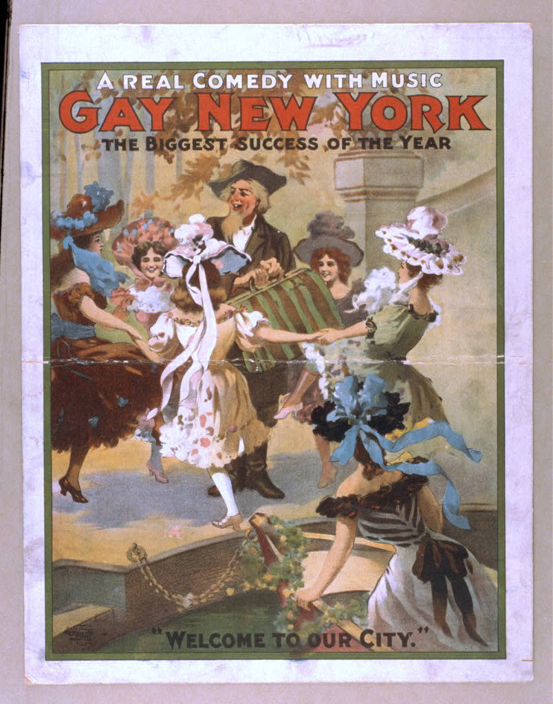 Gay New York a real comedy with music : the biggest success of the year.