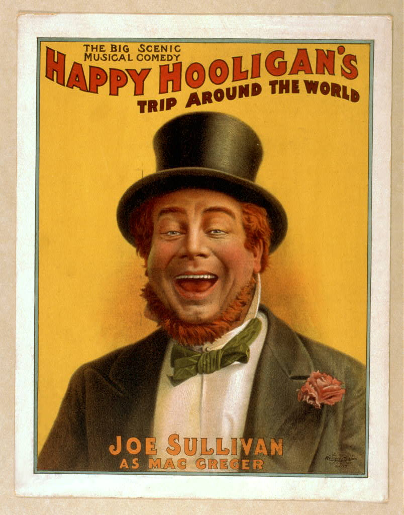 Happy Hooligan's trip around the world the big scenic musical comedy.