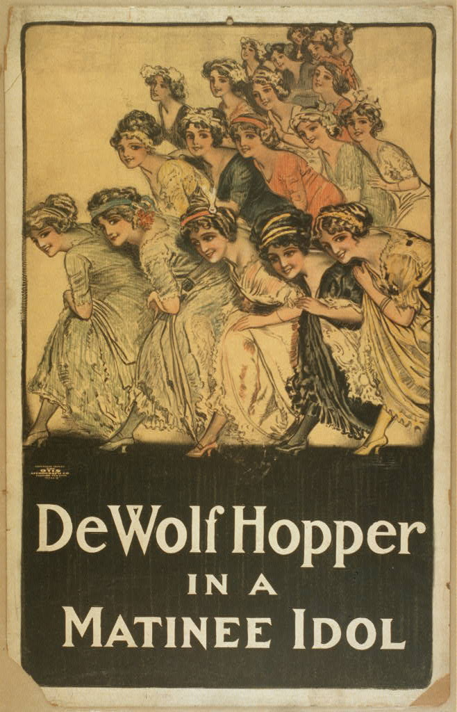 De Wolf Hopper in A matinee idol