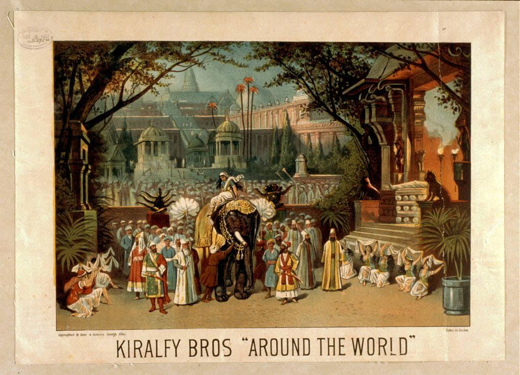 "Kiralfy Bros ""Around the world"""