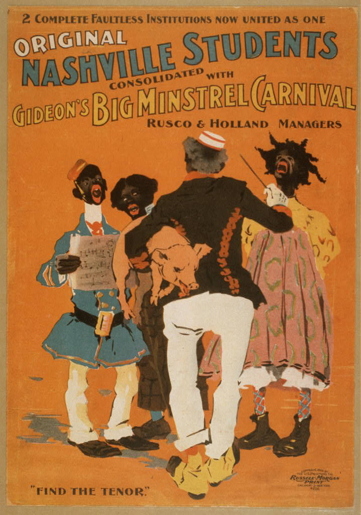 Original Nashville Students consolidated with Gideon's Big Minstrel Carnival