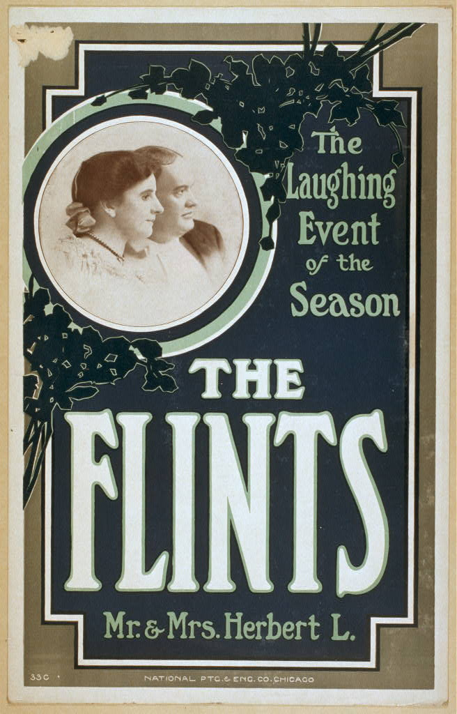 Flints, Mr. & Mrs. Herbert L. the laughing event of the season.