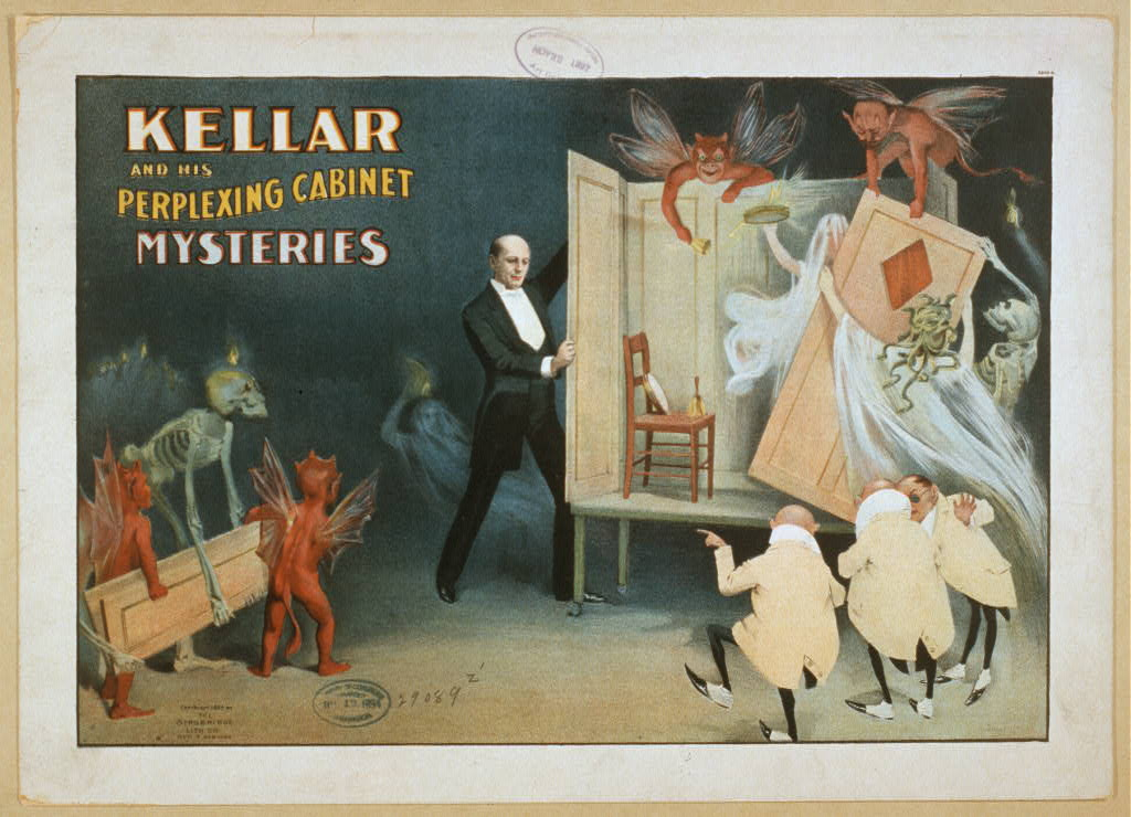 Kellar and his perplexing cabinet mysteries
