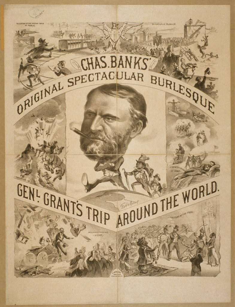 Chas. Banks' original spectacular burlesque