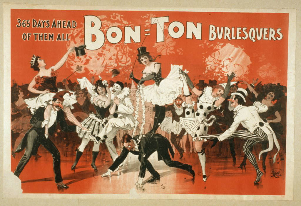 Bon Ton Burlesquers 365 days ahead of them all.