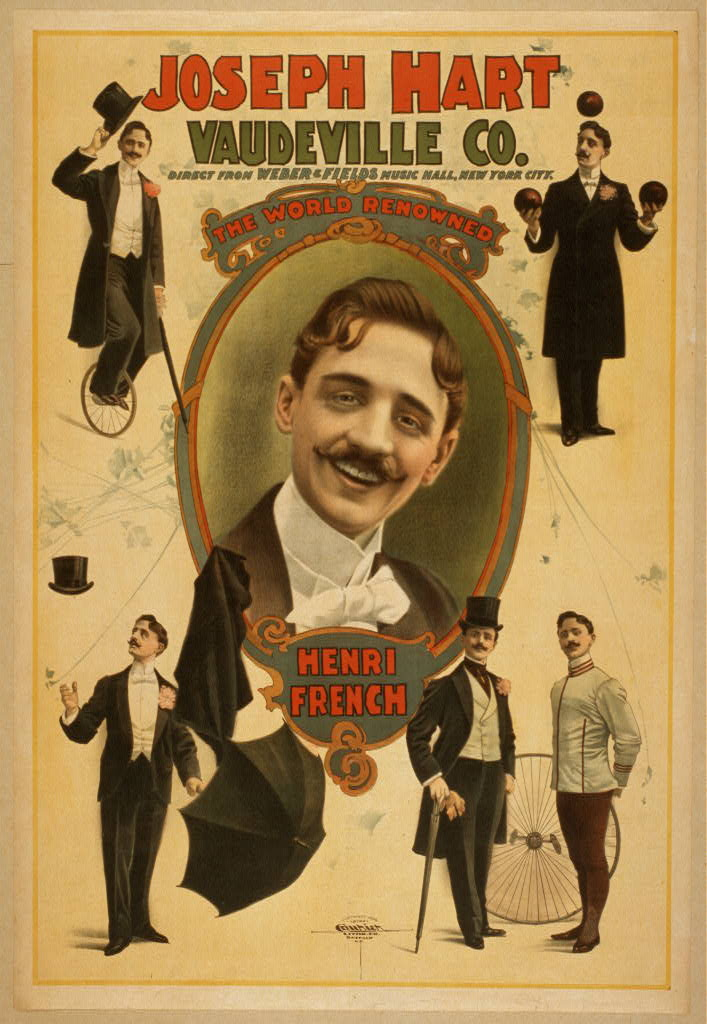 Joseph Hart Vaudeville Co. direct from Weber & Fields Music Hall, New York City.
