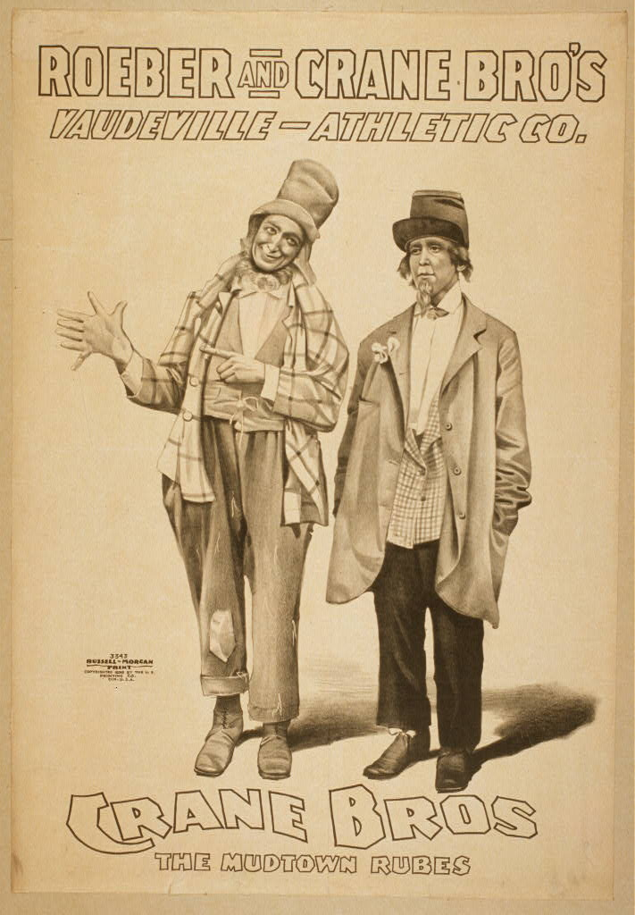 Roeber and Crane Bro's Vaudeville-Athletic Co.
