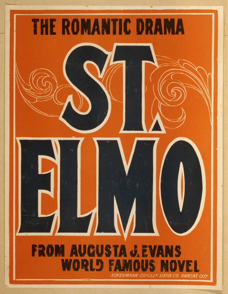St. Elmo the romantic drama : from Augusta J. Evans world famous novel.