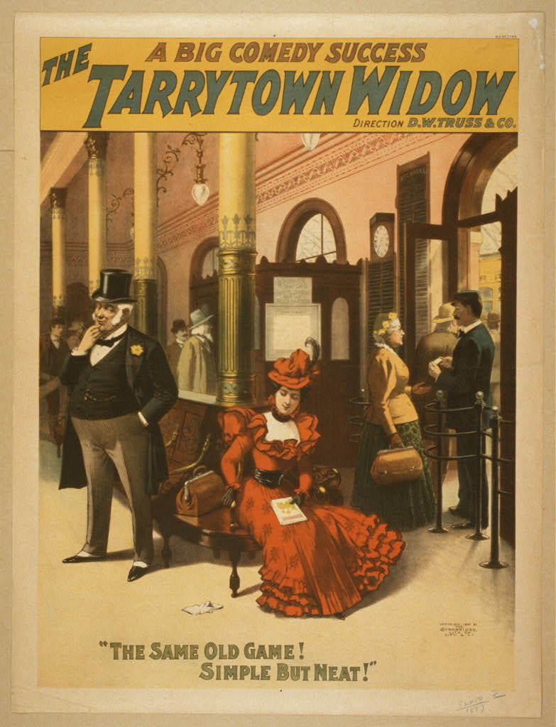 The Tarrytown widow a big comedy success.