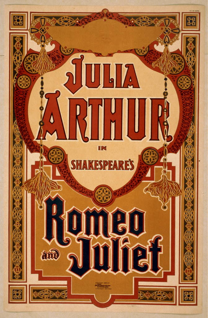 Julia Arthur in Shakespeare's Romeo and Juliet