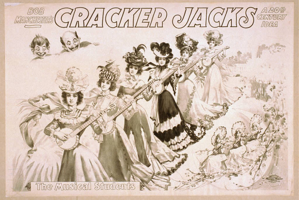 Bob Manchester's The Cracker Jacks a 20th century idea.