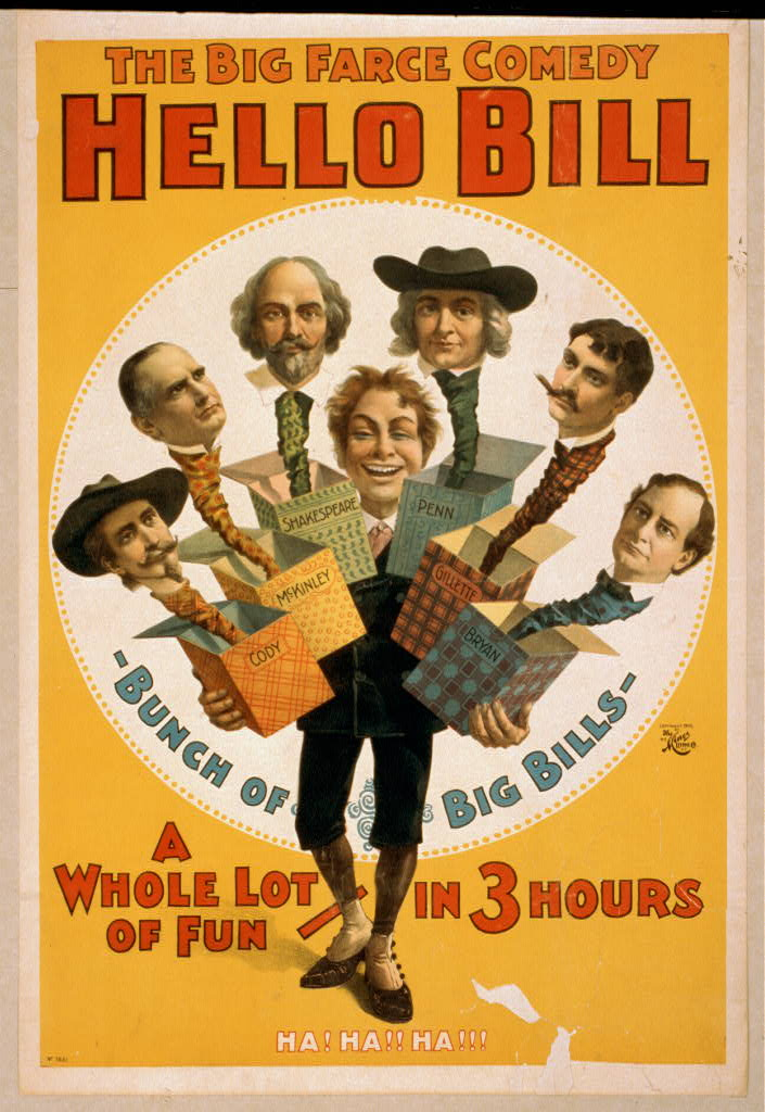 The big farce comedy, Hello Bill a whole lot of fun - in 3 hours.