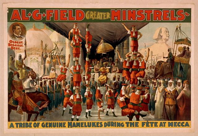 Al. G. Field Greater Minstrels oldest, biggest, best.