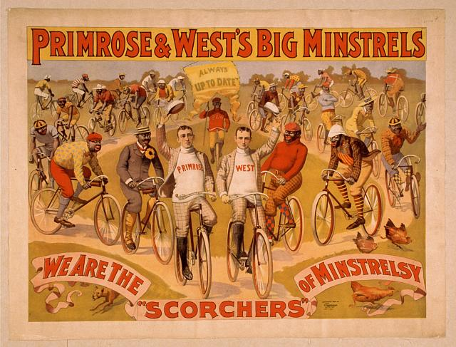 Primrose & West's Big Minstrels always up to date.