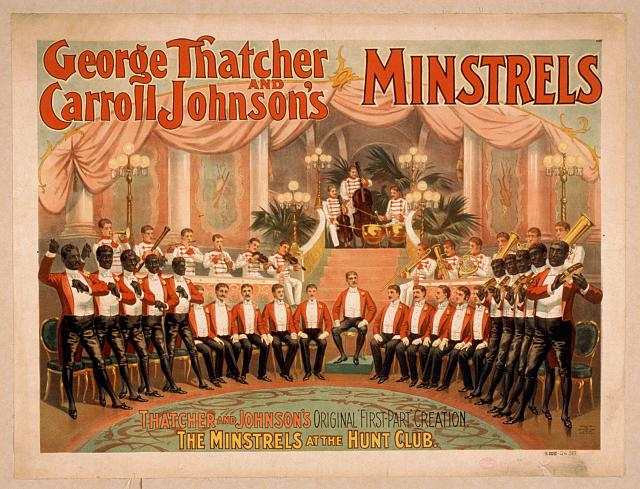 George Thatcher and Carroll Johnson's Minstrels