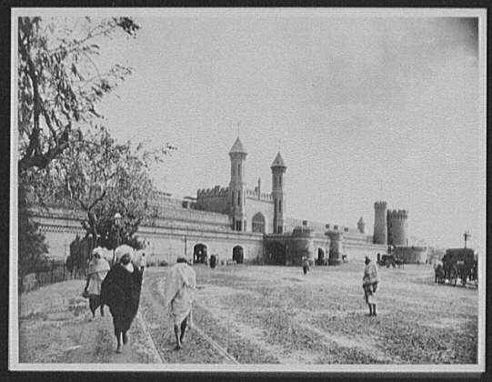 Lahore - general view of railway station