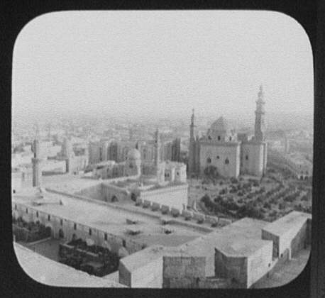 Cairo - panorama from the Citadel - left half