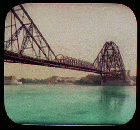 Bridge over the Indus at Sukkur
