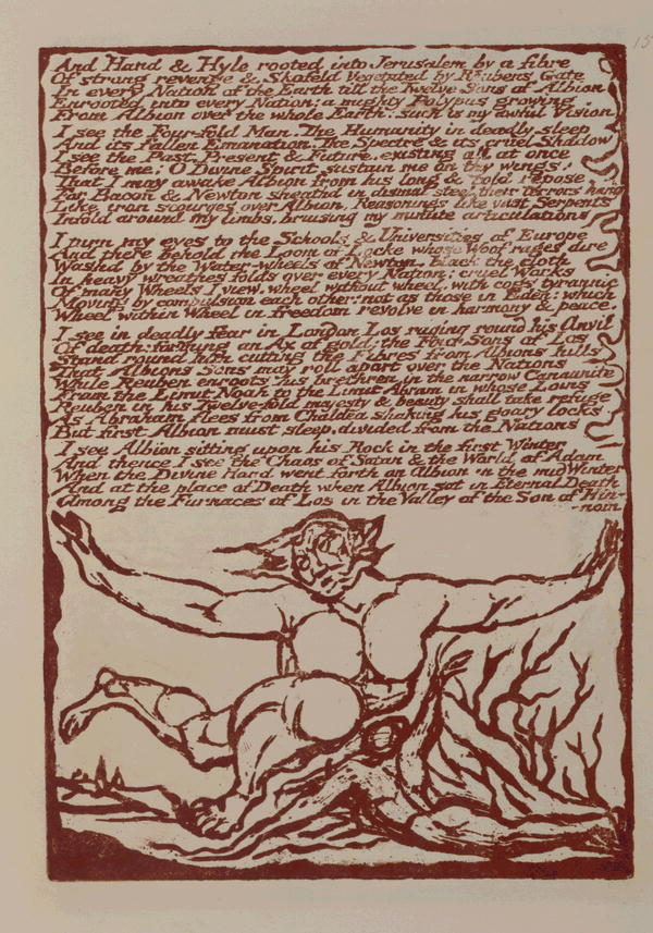 the mental traveller by william blake essay What's up with the epigraph write essay lit glossary gardner chooses a quatrain from late 18th-century visionary poet william blake's the mental traveller.